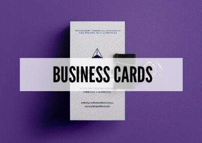 Beautifully Designed Business Cards.