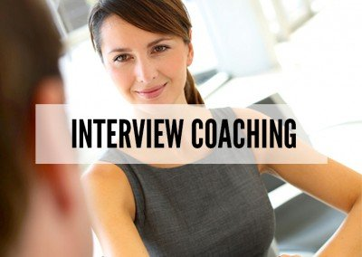 Advanced Interview Coaching.