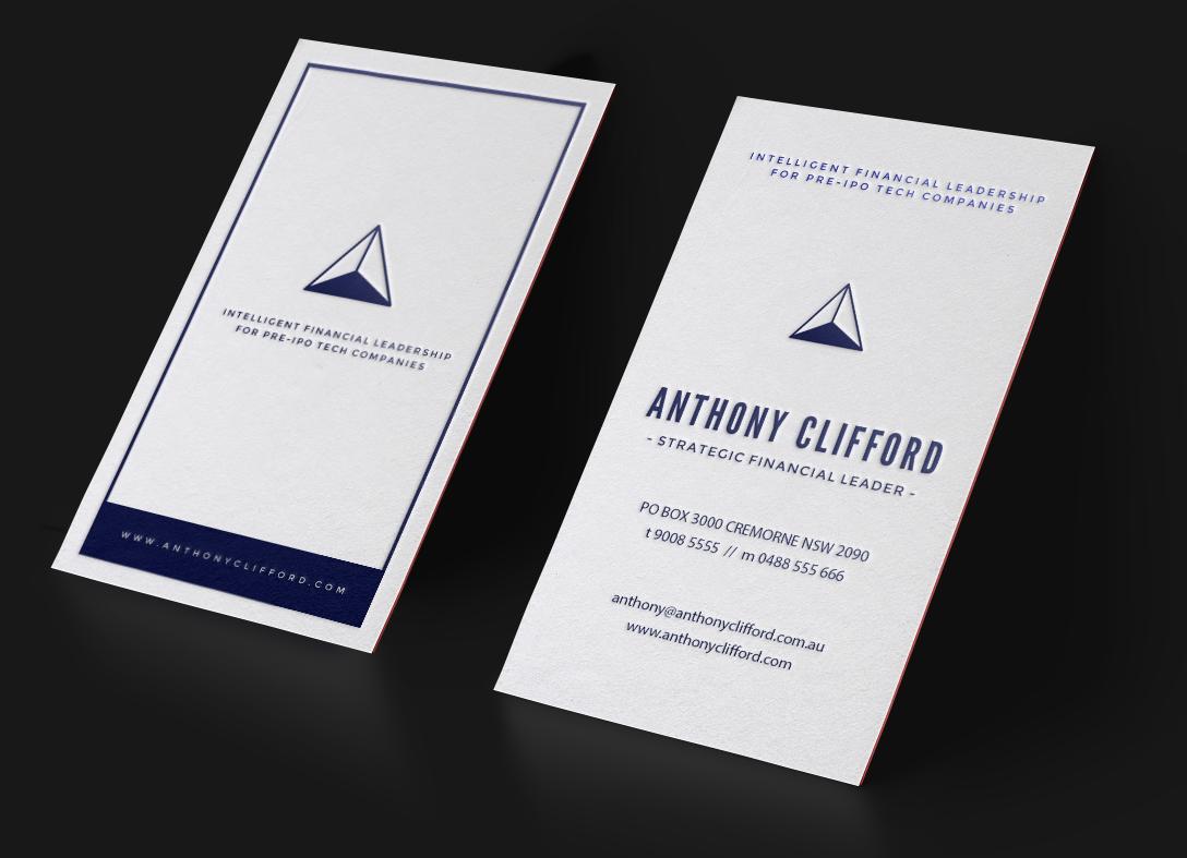Business Card Design For Executives.