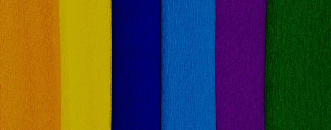 Abstract Colour Wheel LinkedIn Background