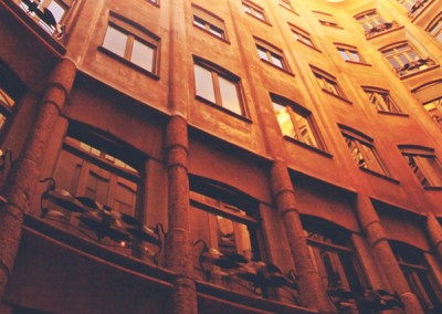 European Architecture LinkedIn Background