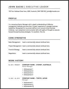 Samples of resumes australia elita. Mydearest. Co.
