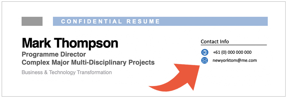 include date of birth on resume