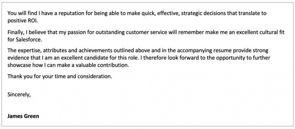 Amazing Cover Letter Examples from arielle.com.au